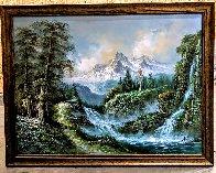Untitled Painting 36x48 Super Huge Original Painting by Javier Julio - 1