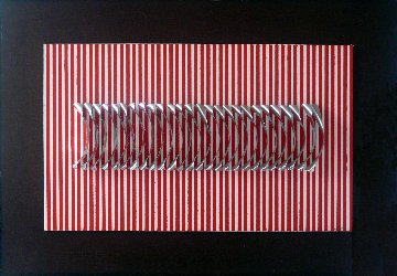 Untitled Canvas Sculpture - Julio Le Parc