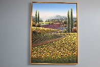 Awakening of Spring 2013 49x37 Super Huge  Original Painting by Mario Jung - 1