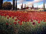 Untitled Landscape 40x50 Original Painting - Mario Jung