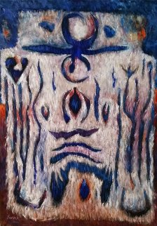 Vikings 2016 50x36 Original Painting - Peter Juvonen