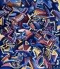 Great Escape 1987 53x47 Original Painting by Peter Juvonen - 1