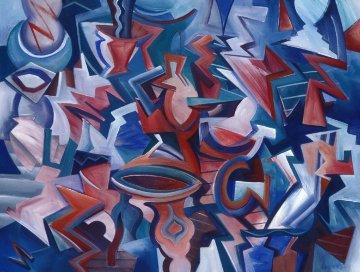 Transformation 1989 27x35 Original Painting by Peter Juvonen