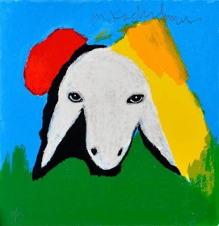 Sheep II 2015 Limited Edition Print - Menashe Kadishman