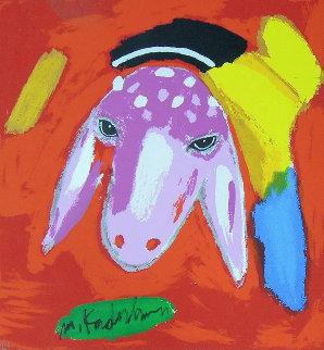 Sheep III 2015 Limited Edition Print - Menashe Kadishman