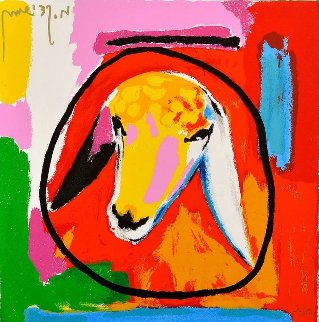 Sheep IV 2015 Limited Edition Print - Menashe Kadishman