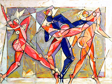 Dance Limited Edition Print - Isaac Kahn