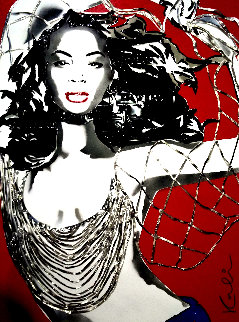 Beyonce Metal Sculpture 2004 42 in Sculpture by Michael Kalish