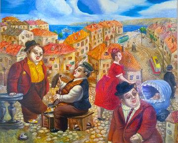 Once Upon a Day Original Painting - Alexander Kanchik