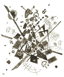 Kleine Welten IX 1922 Limited Edition Print - Wassily Kandinsky