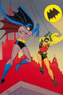 Batman And Robin 2005 Limited Edition Print - Bob Kane
