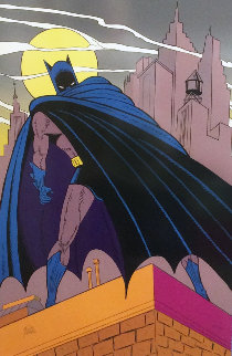Batman Over Gotham 1989 Limited Edition Print - Bob Kane