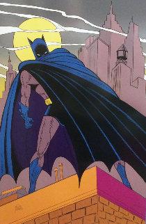 Batman Over Gotham 1989 Limited Edition Print by Bob Kane
