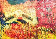 Rialto Domenica 2006 54x73 Super Huge Original Painting by Mark Kaplan - 0