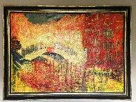 Rialto Domenica 2006 54x73 Super Huge Original Painting by Mark Kaplan - 1