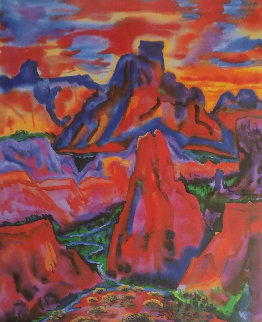 Valley of Love Limited Edition Print by Phyllis Kapp