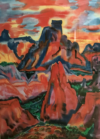 Valley of Love 1992 Limited Edition Print by Phyllis Kapp