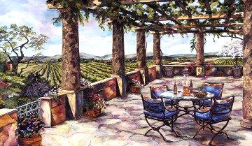 Vineyard Veranda Limited Edition Print - Karen Stene