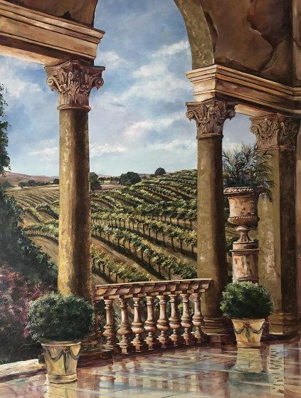 Vineyard Rhapsody 68x52 Original Painting by Karen Stene