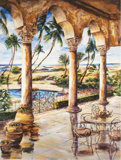 Corinthian Beachfront Limited Edition Print by Karen Stene