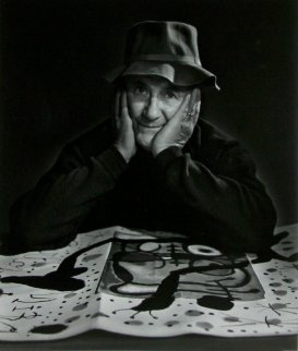 Joan  Miro 1950 Limited Edition Print - Yousuf Karsh