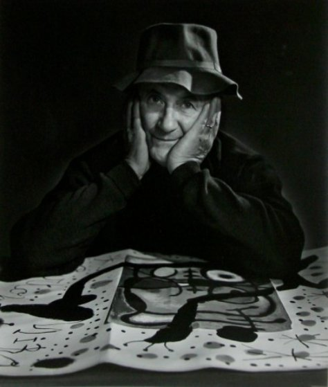 Joan  Miro 1950 Limited Edition Print by Yousuf Karsh