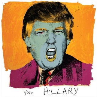 Vote Hillary PP 2016 Limited Edition Print - Deborah Kass