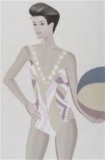Chance 3 (Darinka) Suite of 3 2016 Limited Edition Print by Alex Katz