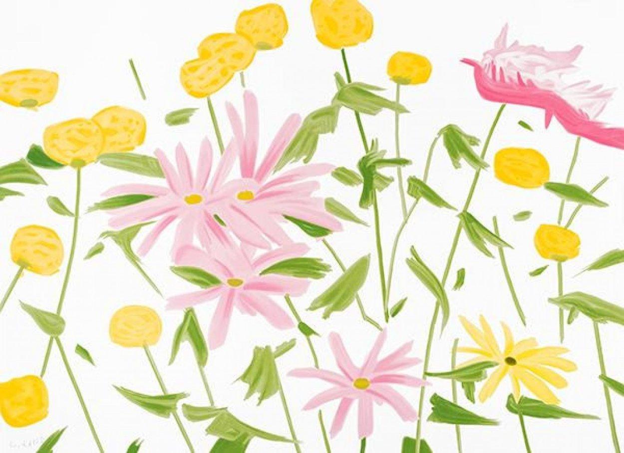 Flowers 2017 Limited Edition Print by Alex Katz