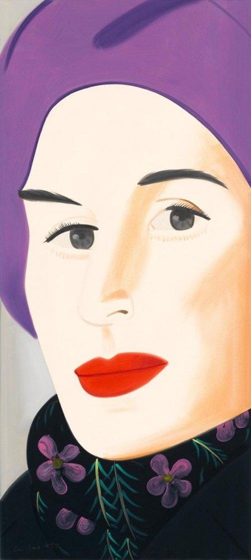 Purple Hat (Ada) 2017 Limited Edition Print by Alex Katz