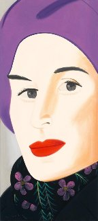 Purple Hat (Ada) 2017 Limited Edition Print - Alex Katz