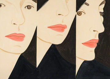 Vivien X 5 2018 Limited Edition Print - Alex Katz