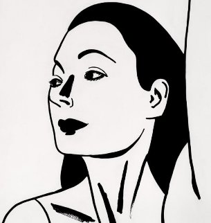 Laura 2 2018 Limited Edition Print - Alex Katz