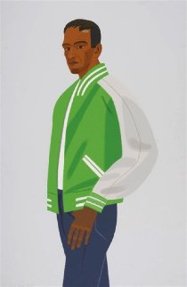 Green Jacket 1990 Limited Edition Print - Alex Katz
