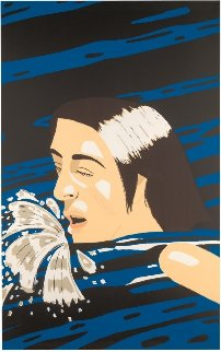 Olympic Swimmer, 1976 Limited Edition Print - Alex Katz