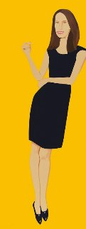 Black Dress Portfolio - Christy 2015 Limited Edition Print by Alex Katz