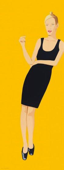 Black Dress Portfolio - Oona 2015 Limited Edition Print by Alex Katz