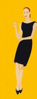 Black Dress Portfolio - Ulla Limited Edition Print - Alex Katz