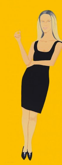 Black Dress Portfolio - Yvonne Limited Edition Print by Alex Katz
