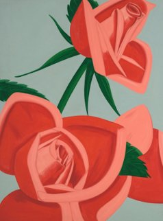 Rose Bud 2019 Limited Edition Print by Alex Katz