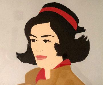 Ada in Hat 1990 Limited Edition Print - Alex Katz