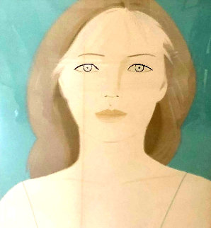 Anastasia 1984 Limited Edition Print - Alex Katz