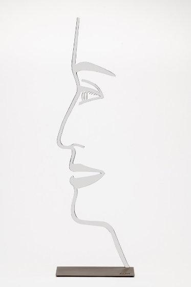 Ada 1  (Outline) 2018 24 in Sculpture by Alex Katz