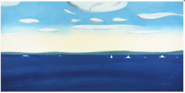 4:30 PM 2017 Limited Edition Print by Alex Katz