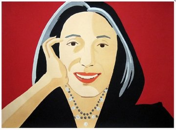 Ada 2011 Limited Edition Print - Alex Katz