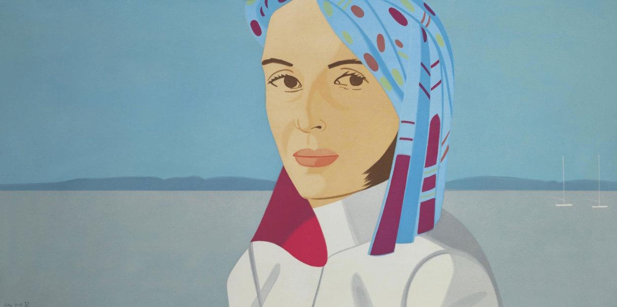 Ada in Blue Hat 2004 Limited Edition Print by Alex Katz