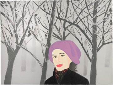 January 7 1993 Limited Edition Print by Alex Katz