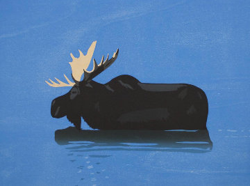 Moose 2013 Limited Edition Print by Alex Katz