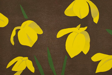 Yellow Flags 2013 Limited Edition Print - Alex Katz