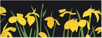 Yellow Flags 2 2013 Limited Edition Print by Alex Katz